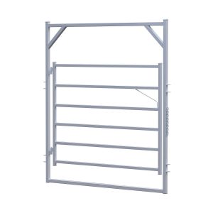 2.1m Econo Rail Gate in Frame