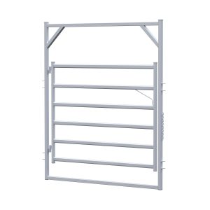 2.1m Premier Rail Gate in Frame