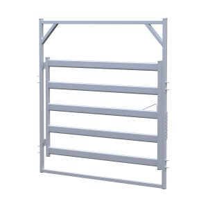 2.1m Bull Rail Gate In Frame