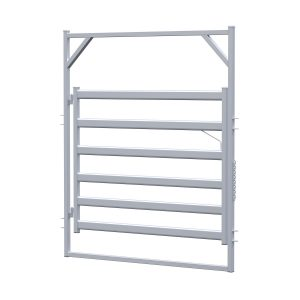 2.1m Cattle Rail Gate In Frame